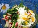 Салат с красной свеклой