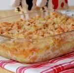 Кюфта с сыром и грибами
