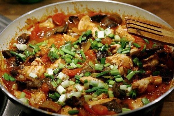 Chicken in Italian way
