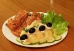 Рыба с кунжутом