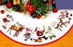 Рождественские салфетки.