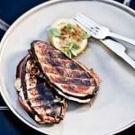 Бутерброды из баклажанов и мяса