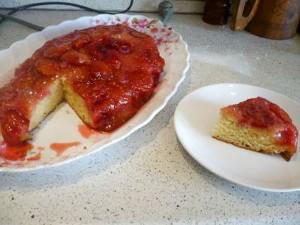 Французские Татен-пирожки со сливой