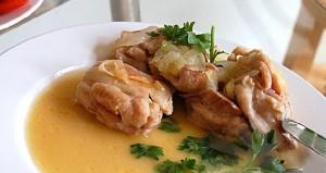 Куриное мясо с соусом Маринера