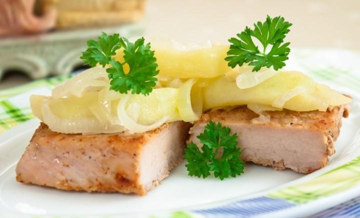 Tasty pork