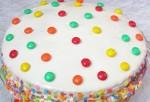 Торт конфетти