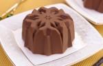 Շոկոլադեվանիլային պաղպաղակ շոկոլադե գլազուրով