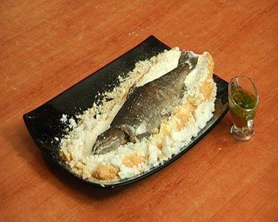 Fish with tarragon sauce