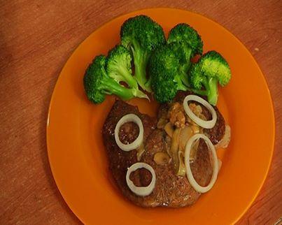 Սնկի սոուսով տավարի միս