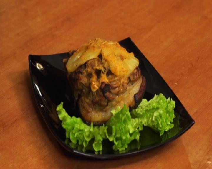 Սալորաչրով և արքայախնձորով խոզի միս