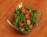 Purslane and tomato salad