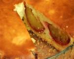 Hot pie with plum