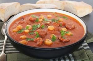 Суп с горохом по-мороккански