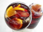 Sangria. Spanish Cocktail