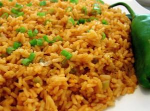 Рис с томатом