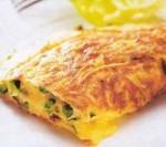 """Breakfast. Omelette """"The Secret of the Third Planet"""""""
