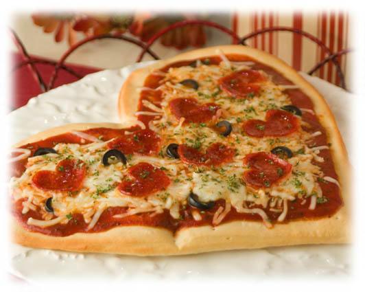 Pizza - heart